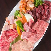 『はま乃』では新鮮で良質な肉と野菜を様々にご用意しております