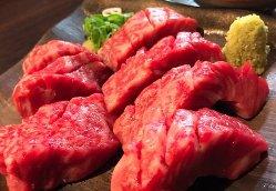 リピーター率の高い「和牛上赤身」はあっさりした味わいで美味!