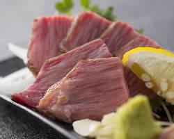 新鮮肉ならではのお刺身メニューもご用意しております。