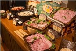ドイツの製法で手作りしたハムは、肉の旨味がたっぷり!