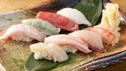 【新鮮魚介】 いい食材を使って、毎月多彩な旬菜をご用意