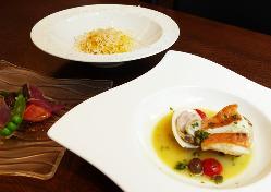 素材の味を活かしたイタリア料理
