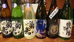 利き酒師店主こだわりの日本酒をご用意。