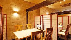 最大36名様まで可能な個室完備!プライベート空間で楽しめます