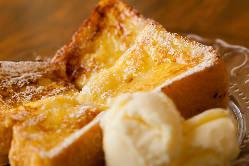 鉄板で焼き上げる極上☆フレンチトースト