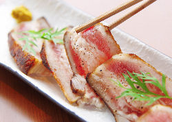 日本酒によく合う白金豚。ぜひお試しください。