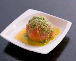 トマトのバジルソース 290円