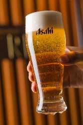 《注目の飲み放題》 各種プレミアムビールも楽しめる贅沢内容
