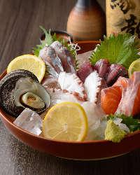 新鮮な海鮮をご堪能ください!