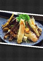 かにちり・かにすきなどの鍋料理も種類豊富!