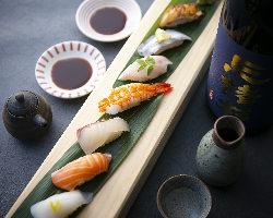 居酒屋で絶品お寿司をご堪能あれ♪