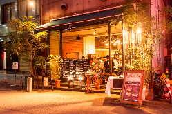 心斎橋・南船場の一軒家レストラン!