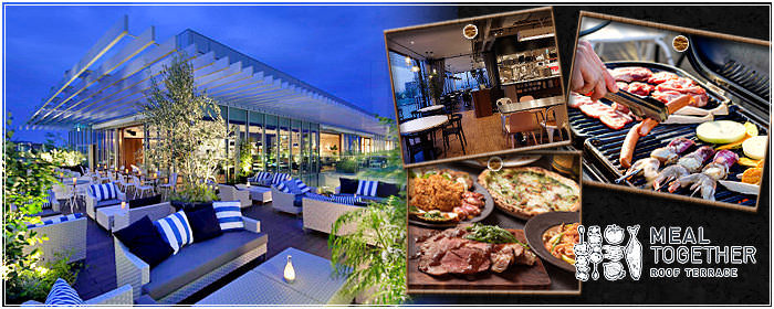 MEAL TOGETHER ROOF TERRACE 枚方T‐SITE店