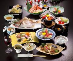 創作和食料理が3,000円~各種宴会のご予約も承ります。