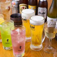 アサヒスーパードライ生ビールは280円!!