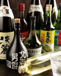 北海道の日本酒・焼酎など種類も豊富!北海道らしい焼酎が色々♪