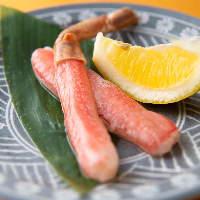 香住ガニはシンプルな食べ方で甘みを味わってください
