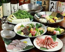 ご宴会コース承り中!3,980円より。気軽に使える先斗町のお店!