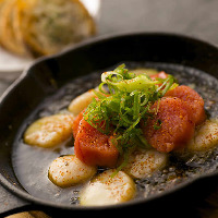 Hisagoya特製!魚介の『和ヒージョ』など創作感あふれる一皿も◎