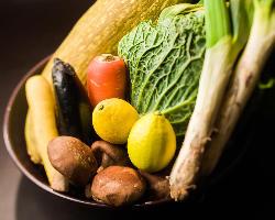 野菜ソムリエ選りすぐり!季節の野菜をたっぷと!