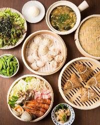 中華・本格アジア料理から居酒屋定番メニューまで豊富にご用意!