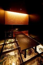 幻想的な個室もあります!特別な日のお食事に◎