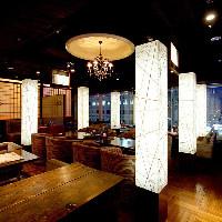 梅田駅5分♪最上階からの夜景を眺めながらゆったりお食事♪