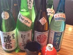こだわりの地酒!日本酒がより充実しました