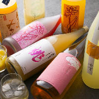 おいしくて飲みやすい♪ 梅酒・果実酒も種類豊富にご用意!