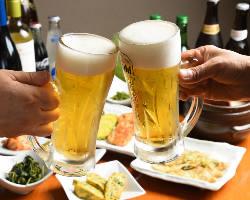飲み放題付コースは4,000円~京都駅近くで宴会OK!