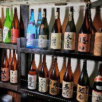 焼酎や日本酒も豊富に用意。お好みの一杯を見つけてください!