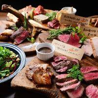 コースは前菜・サラダ・ステーキ・煮込み〜〆まで満足の内容◎