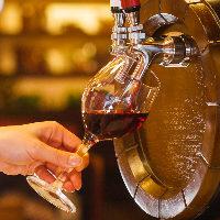本場イタリアの味をそのままグラスへ…常連様に人気の樽生ワイン