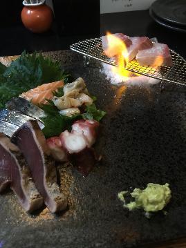 産直鮮魚と天プラ 六星