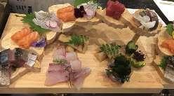 三厨和コース6,000円で三厨名物お刺身階段盛りを是非!