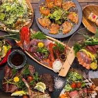 《豊富なコース料理》宴会・歓送迎会・飲み会など♪