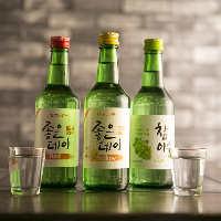 韓国で人気のカクテル焼酎。まろやかな口当たり