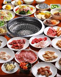 【食べ放題コース】 全51品が味わえる食べ放題もございます