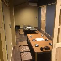 宴会に最適な掘りごたつ個室席!!