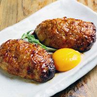 ◆大人気◆ つくねハンバーグは甘みのある深い味わいの一品