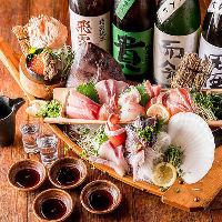 各種ご宴会シーンに最適な飲み放題付きコース3480円からご用意!