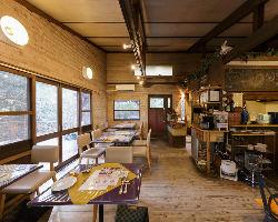 店内は装飾の細部にまでこだわっており、心もリフレッシュ。