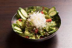 野菜をしっかり摂りたい方には『チョレギサラダ』がオススメ