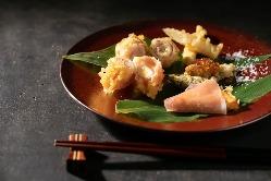 ネオ天ぷら是非食べて頂きたい一品。お酒との相性も抜群です◎