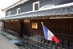 古き良き和の温かみを感じる古民家レストラン。