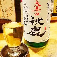 地元大阪や島根など、全国各地の銘酒を取り揃えております。