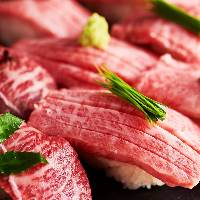 個室肉バルNEW OPEN♪肉すしや釜飯、ステーキ等人気の肉尽くし!