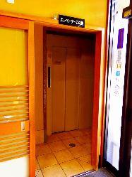 店内にエレベーター完備しております。
