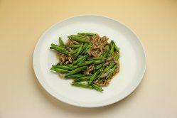 「豚肉のキンシンサイ炒め」は店主のオススメの逸品