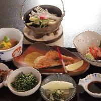 奈良の旬の食材を使用した、美味しい料理を会席コースでご提供。